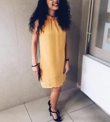 Žuta zaful haljina