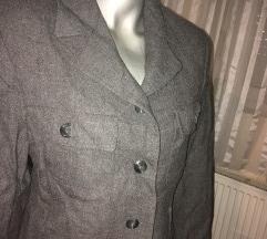 Sivi sako od vune