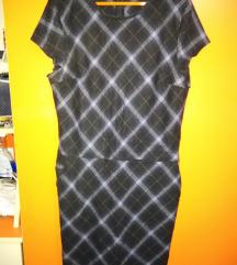 Karirana haljina XL