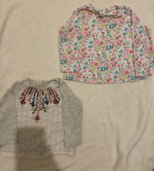 Bluze za devojcice Zara i LCW