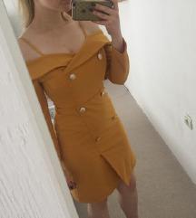 Žuta haljina (može razmena)