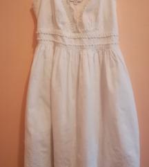 Pamucna bela haljina
