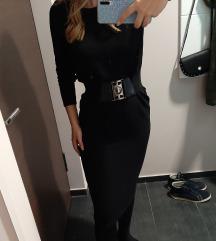 Zara duga crna haljina
