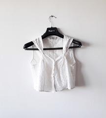Elegantna rupicasta VINTAGE crop top majica