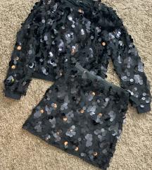 Komolet suknja i duks na sljokice