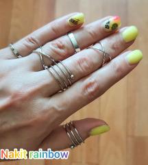 💜Set od 6 prstenčića