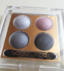 NOVA paleta senki za oči Golden Rose