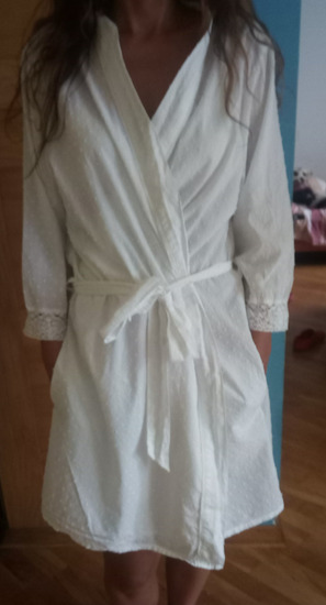 Ringella kucni ogrtac ili kosulja haljina