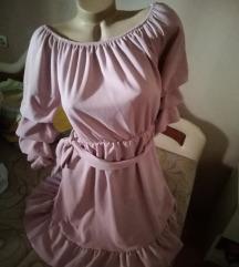 Puder roza haljina M/L