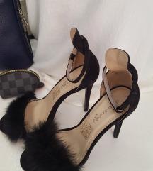 Sandale sa krznom