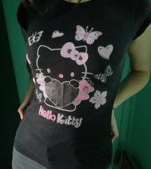 hello kitty majica goth