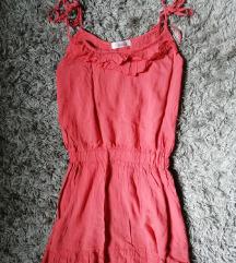 DANAS 400✿ Koralna letnja haljinica, vel.S