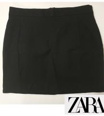 Zara Basic crna mini suknja