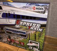 Igracka express train play set NOVO