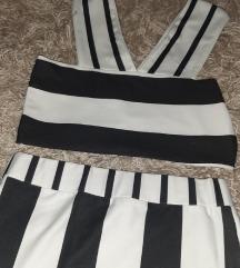 Crop top i suknja