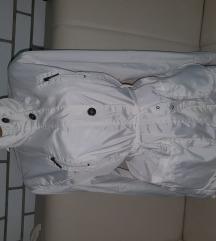 Perfect snezno beli mantil m/L