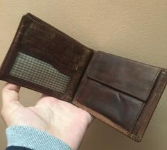Kožni novčanik ručno pravljen od prave kože!
