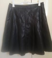 Kožna suknja Orsay