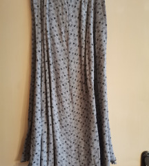 Suknja duga siva M