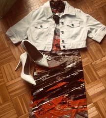 haljina xs s komplet jaknica gornjak  suknja s/m