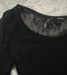 Tally Weijl dugačka crna haljina