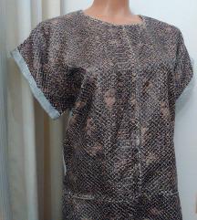 Zara snake print majica M