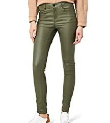 Nove maslinaste kozne pantalone