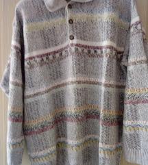 Muški džemper sa kragnom SUSPENSE XL