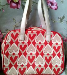 Nici original torba ~ Crvena & Bež srca