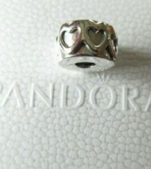 Original Pandora kopča, Red srca