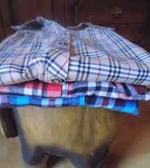 Košulje karirane - 3 komada
