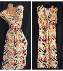 CARTOON ❦ raskošna maxi cvetna haljina M/L