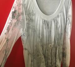 Elegantna siva bluza