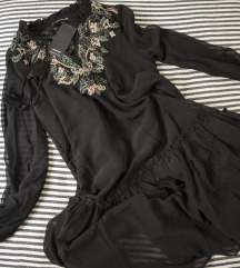 Reserved boho crna haljina, vel. 34