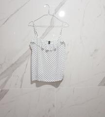 H&M bluzica na tufne sa karnerom