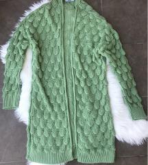 Zeleni kardigan (Uni vel) NOV