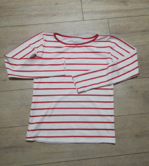 Crveno bela bluza uni