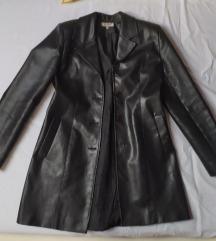 Kožna jakna/mantil