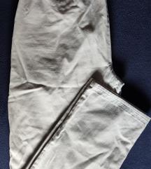 💥Vintage prljavo bele pantalone