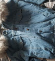 teksas jakna sa krznom