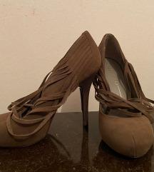 NOVE cipele od velura braon