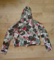 Crop top cvetna bluza