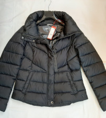 S'Oliver zimska crna jakna, 36 i 40, NOVO, etiketa