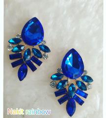 💙Kraljevsko plave minđuše