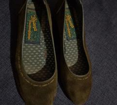 Maslinaste cipele-baletanke