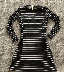 HiM basic haljina rebrasta
