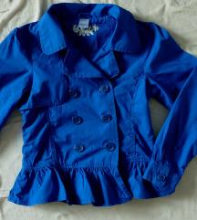 Kraljevsko plave boje retro sako 152 S/XS