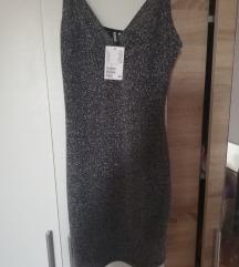 kratka H&M haljina sa strasom NOVO