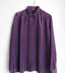 Svilena Ljubičasta Košulja [VINTAGE]