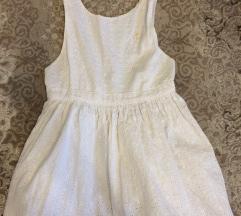 Haljina za devojcice bela 122cm
